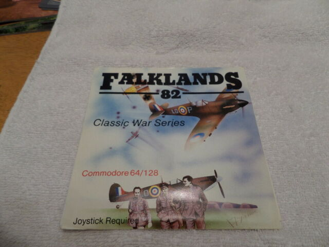 Load and Go Software- FALKLANDS '82  5.25 floppy disc complete no Box