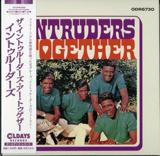 INTRUDERS-THE INTRUDERS ARE TOGETHER-JAPAN MINI LP CD BONUS TRACK C94