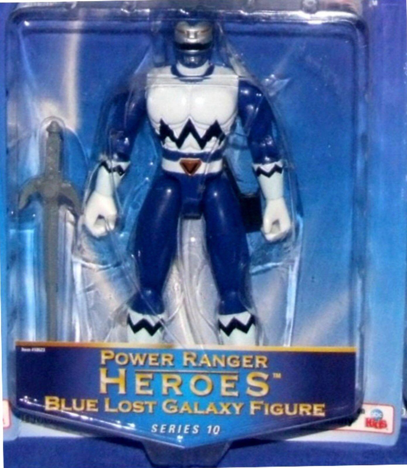 Energia Rangers Lost  Galaxy 5  blu Ranger Heroes Series 10 nuovo Factory Seal 2003  al prezzo più basso