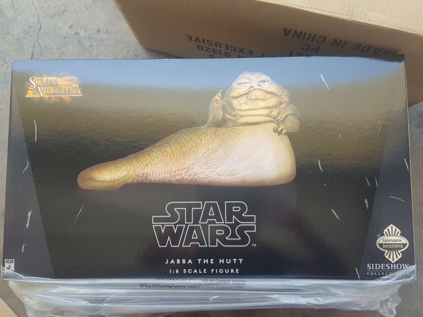 Sideshow Collectibles-Jabba the Hutt  61 0 F 480 1 6 Scale - 21461