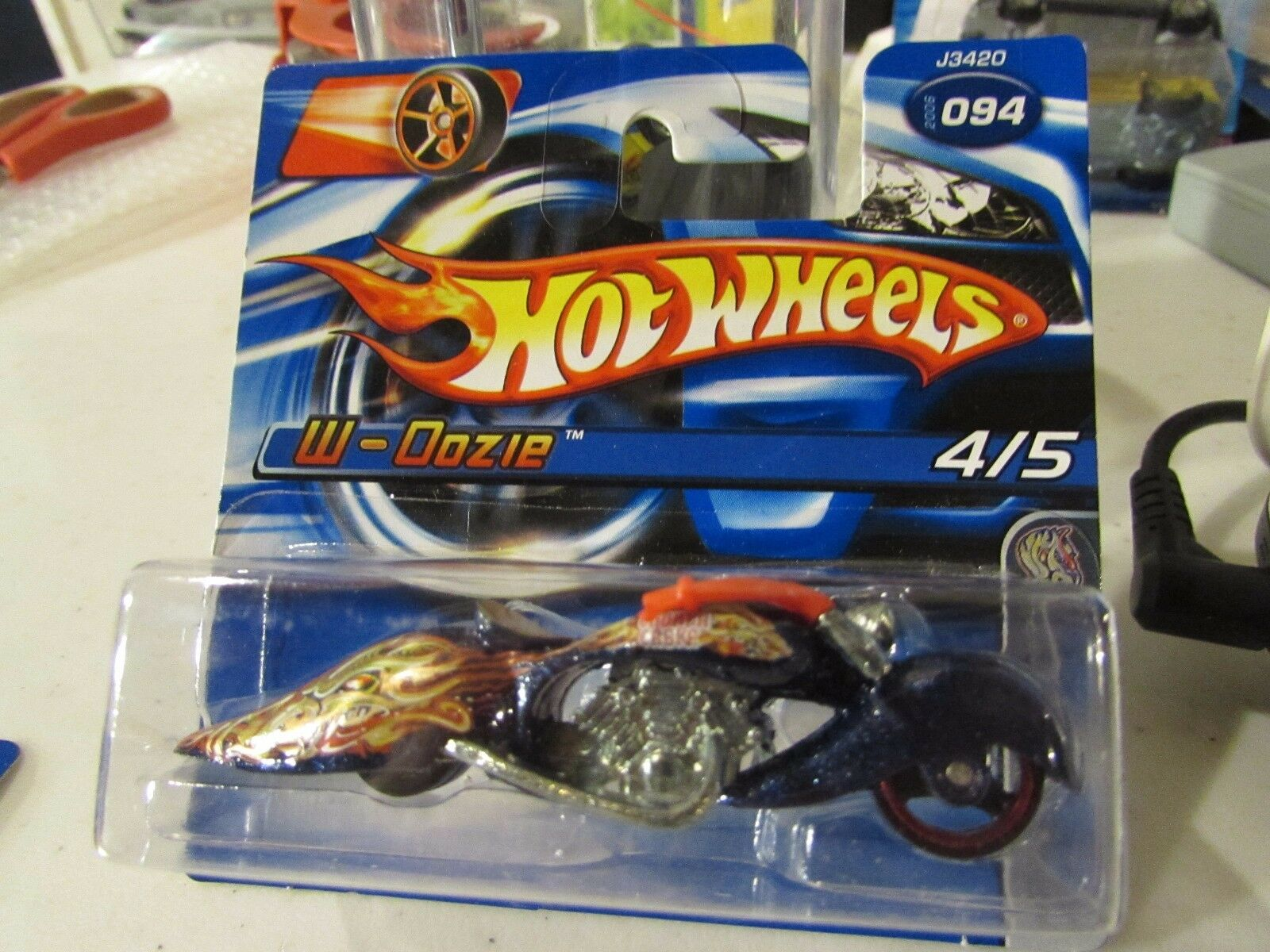 Hot Wheels W-Oozie  094 Highway Horrors Short Card
