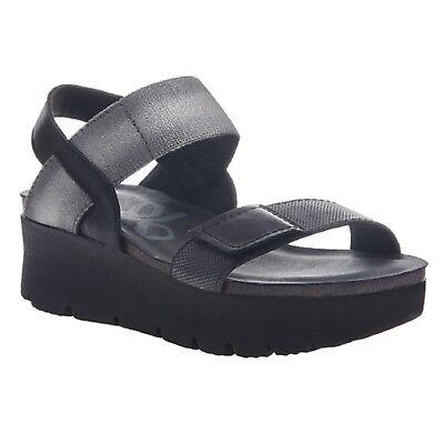 OTBT NOVA Black Wedge Sandal Shoes