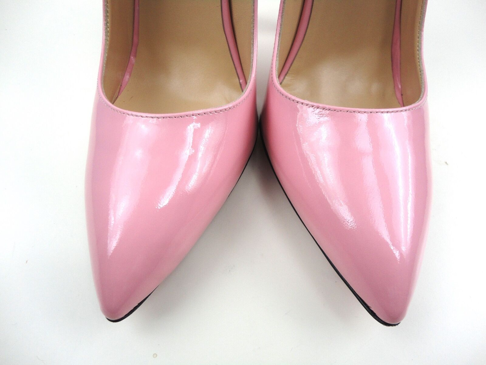 CQ COUTURE EXTREME HIGHEST HEEL PUMPS SCHUHE SCHUHE SCHUHE COURT SHOES PATENT LEATHER PINK 36 b93a66