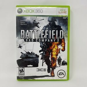 Battlefield: Bad Company 2 (Microsoft Xbox 360, 2010) Complete Tested Working
