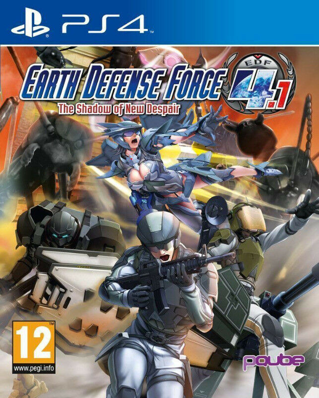PS4 Earth Defense Force 4.1: The Shadow of New Despair (brand new)