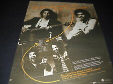 STANLEY CLARKE & GEORGE DUKE Best Ever To Do LOUIE LOUIE 1981 Promo Display Ad