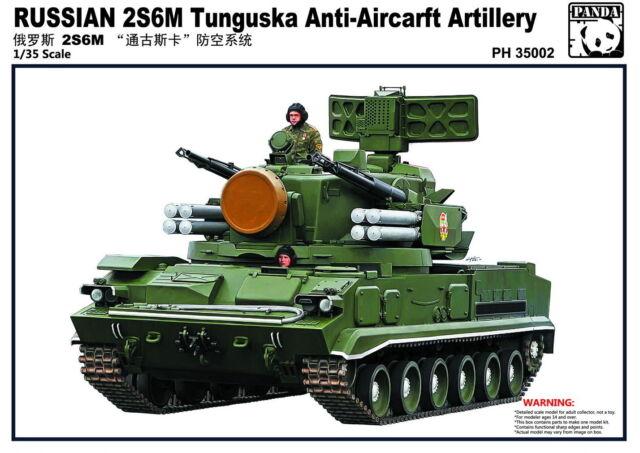Panda Hobby 1/35 Russian 2S6M Tunguska Anti-Aircraft Artillery  #35002