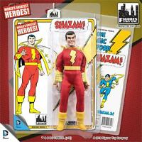 Shazam Retro Series 1 Shazam 8 Inch Action Figure Mosc