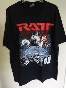 NWOT RATT Band 2003 Tour Graphic Concert Hair 80's Band T