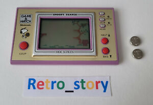 Nintendo Game & Watch - Snoopy Tennis - Wide Screen SP-30 - Touches Françaises