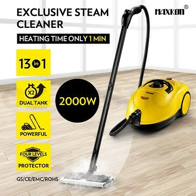 3.4L Commercial Home 2000W High Pressure Carpet Floor Window Steam Cleaner Mop