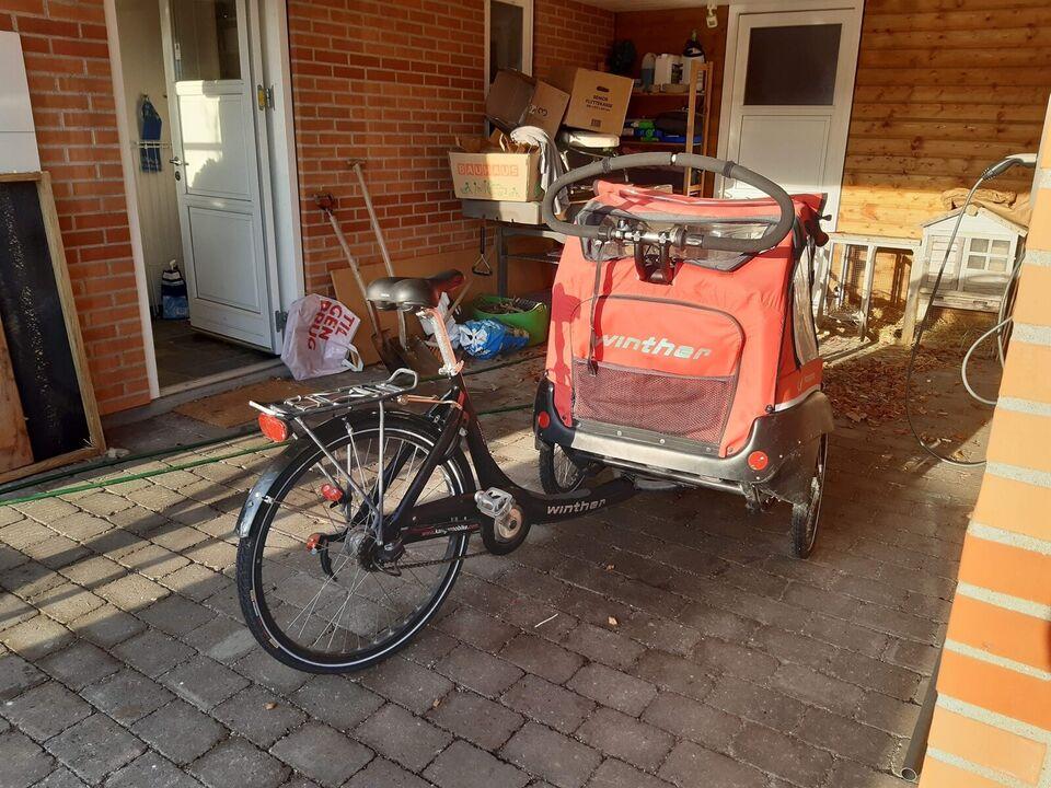 En ladcykel til en ny familie