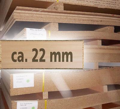 spanplatten beschichtet 22 mm st rke 210 x 265 bzw 280 cm ebay