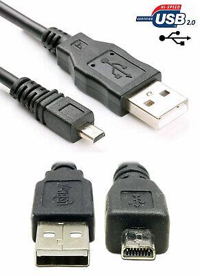 Cable USB para Panasonic Lumix dmc-sz1 cable de datos datacable 1m