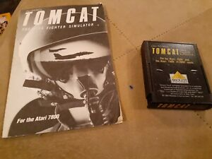 TOMCAT by ABSOLUTE for ATARI 2600 ▪︎ CARTRIDGE and MANUAL ▪︎ FREE SHIPPING ▪︎