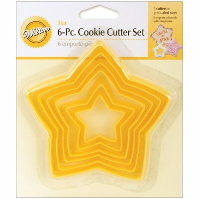 Home & Garden Smart Wilton 6pcs Nesting Star Cookie Cutter Set Pastry Treats Baking Party Hobbycraft We Take Customers As Our Gods Baking Accs. & Cake Decorating