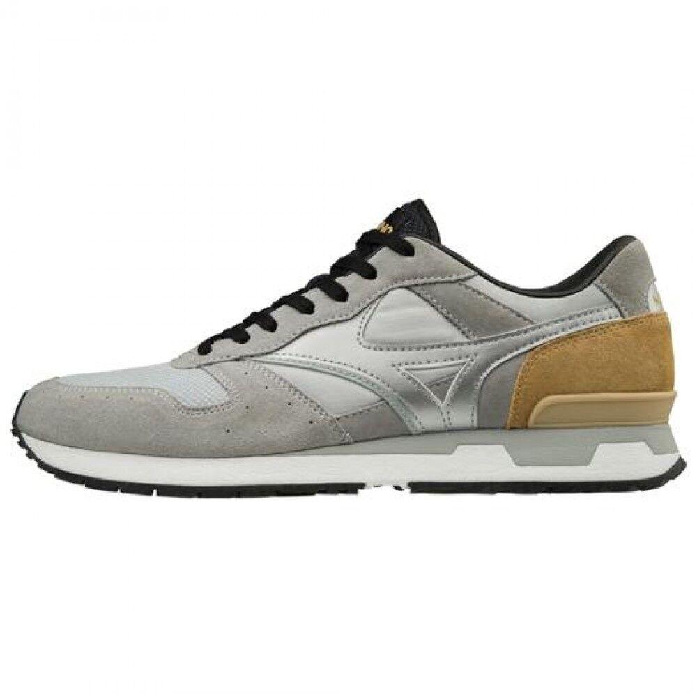 Mizuno sports-style casual sneakers MIZUNO GV87 D1GA1806 Gray × Silver × Beige