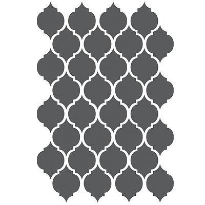 Moroccan Stencils - small scale - For Crafting Canvas DIY decor furniture #2