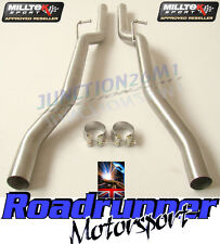 Milltek Audi S4 B6 & S4 B7 Exhaust Non Res Centre Pipes MSAU177REP & MSAU178REP