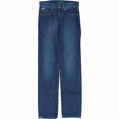 12 years 152cm Skinny Fit Low Rise LACOSTE Boys/' Blue Jeans
