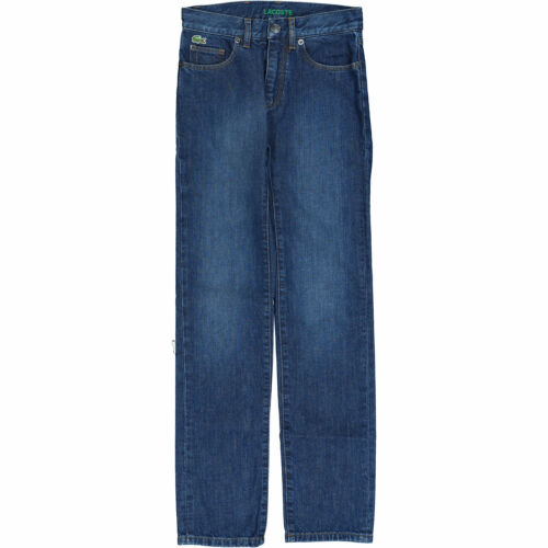Low Rise Skinny Fit 12 years 152cm LACOSTE Boys/' Blue Jeans