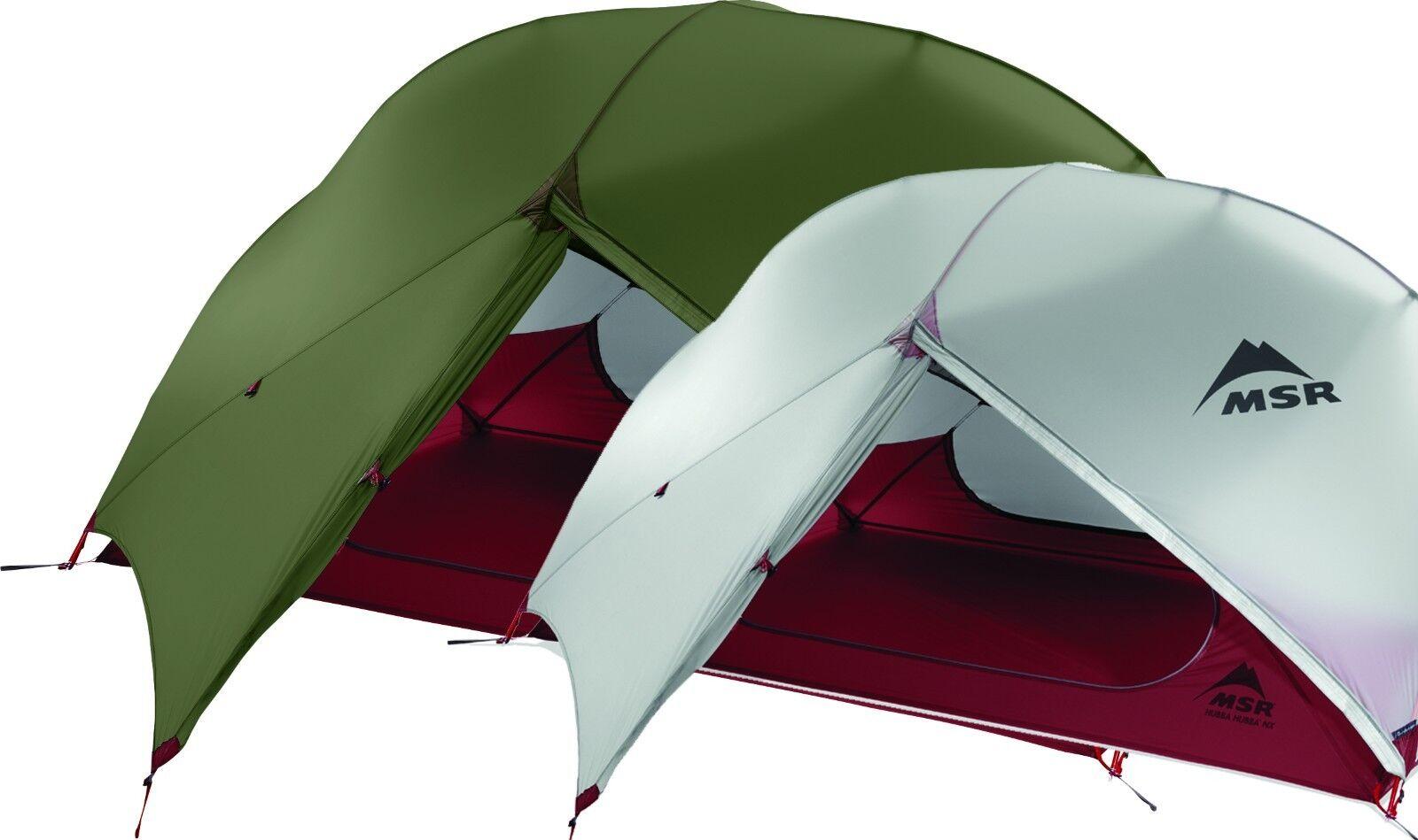 MSR Hubba la NX mejor cortinas ultraligeros mondo Resistencia al agua 10.000 mm
