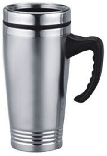 16 oz double wall insulated stainless steel travel coffee beverage cup mug ebay. Black Bedroom Furniture Sets. Home Design Ideas