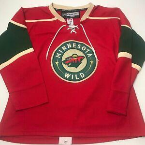 Minnesota-Wild-Alternate-Jersey-Size-48-Fight-Strap-NHL