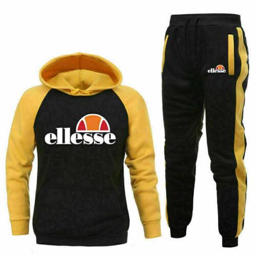 Classic Full Tracksuit Set Hoodie Sweatshirts Bottoms Joggers Pants Jogging Suit