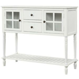 Sideboard Storage Cabinet Console Table Drawer Kitchen Living Room Hallway Shelf Ebay