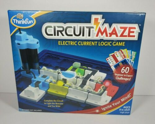 New, Sealed ThinkFun Circuit Maze Electric Current Brain Game and STEM Toy