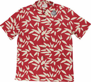 Quiksilver-Mens-Waterman-Collection-Odysea-SS-Shirt-Cardinal-Red