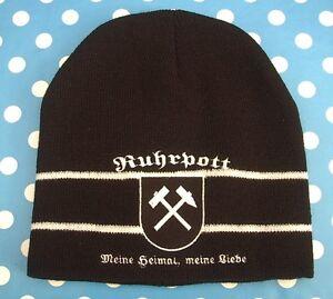 Ruhrpott-Meine-Heimat-meine-Liebe-Strickmuetze-Muetze-Fussball-Fan-Fanartikel