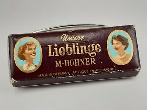 Hohner harmonica M with echo condition darlings beautifully preserved older Mund