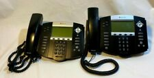 2pk Polycom Soundpoint Ip 550 2201 12550 001 Incomplete Setssee Notes As Is