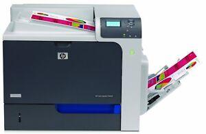 HP Colour LaserJet Enterprise CP4025dn Printer - Black/Silver (CC490A)
