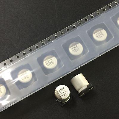 100pcs 10V 330uF 10V ELNA 8X10mm SMD Electrolytic Capacitor