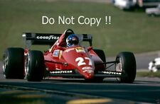 Patrick Tambay Ferrari 126C3 European Grand Prix 1983 Photograph
