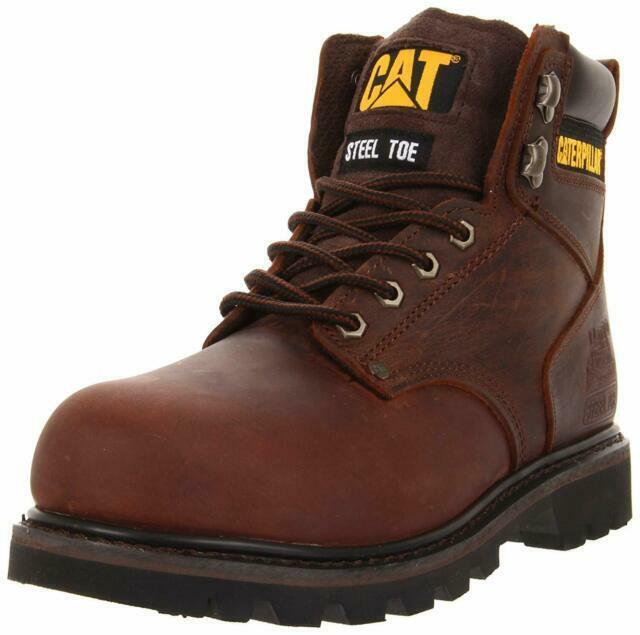 Men Second Shift Steel Toe Work Boots