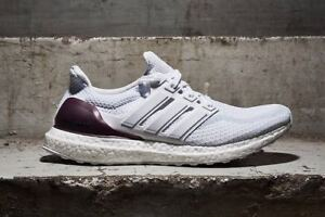 best sneakers 42200 5b59d Details about Adidas Ultra Boost 2.0 Texas A&M PE size 15 White Burgundy  Maroon Aggies BB0802