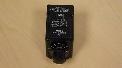 STRUTHERS-DUNN Solid State Timer A45-010A Time Delay Relay