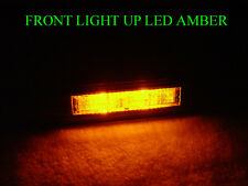 TYPE-S LOOK 04-08 ACURA TL SMOKE 4 PIECE AMBER/RED LED SIDE MARKER LIGHT JDM USA