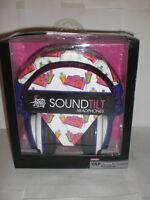 Spray Loud Soud Tilt Headphones Pink Boombox Design