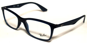 381d937fc51 RAY BAN 7047 54 5450 SATIN BLUE SIGHT GLASSES EYEWEAR GLASSES BLUE ...