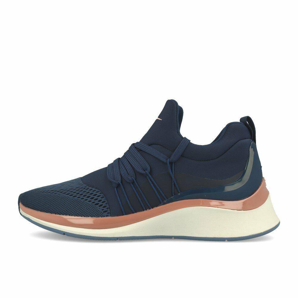 Tamaris 23708-23 moyennes baskets Ocean Chaussures baskets Bleu Blanc