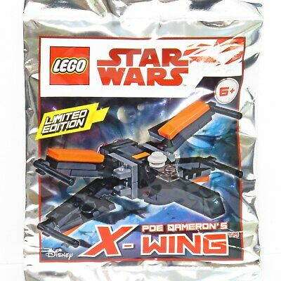 Lego Star Wars Resistance X-wing Polybag Limited Edition New Sealed 913063 Pack
