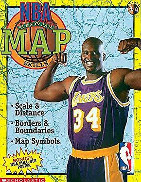 NBA Map Skills by Scholastic Books