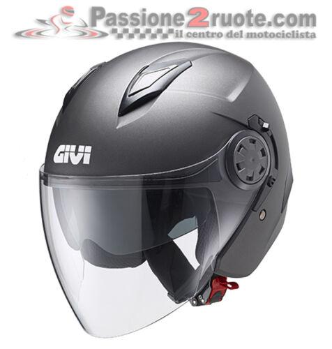 Helmet jet Givi 12.3 Stratos grey titanium matt XS S M L XL casque helm