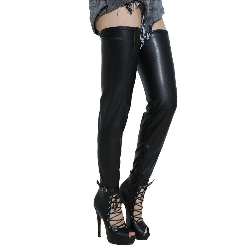 SEXY Women Over-the-Knee Boots Thigh High Heel Boots Club Party Zip shoes Women