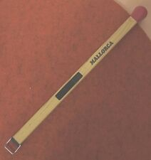 Stabfeuerzeug Motiv Streichholz Farbe braun ca. 23 cm lang
